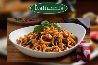 Restaurante Italianni's, Pasta Pizza & Vino Cancun – Promoción con membresía Acceso Sin Limite
