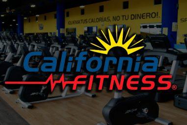 California Fitness –  Inscripción GRATIS Promoción exclusiva para socios de Acceso Sin Límite