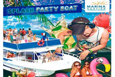 Splash Party Boat – Marina Sunrise