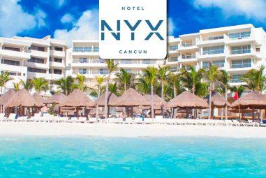 Hotel NYX Cancún – Day Pass $900mxn – Promoción con membresía Acceso Sin Limite